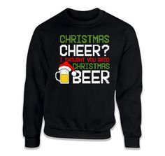Christmas T Shirt, Beer Shirt, Holiday Gifts For Men, Beer Gift Ideas – Teepinch
