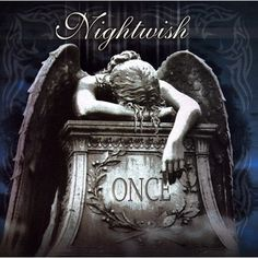 Nightwish - Once - Stellar album. Last one with Tarja Turunen. Heavy Metal, Metal Sinfônico, Gothic Metal, Metal Bands, Rock Bands, Symphonic Metal, Hard Rock, Classic Album Covers, Rock Poster