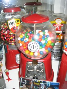 Candy Machines - Fun way to raise money for the honeymoon fund!