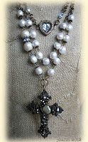 zoWEE Fun Things, Gothic, Pearl Necklace, Brooch, Jewels, String Of Pearls, Goth, Funny Things, Jewerly