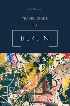 Plan your trip to Berlin! Includes a free printable 3 day itinerary. Travel Advice, Travel Guides, Travel Tips, Berlin Travel, Germany Travel, Group Travel, Us Travel, Berlin Hotel, Restaurant Guide