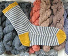 The Woolly Brew: Socks Yeah! as socks...