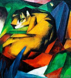 Franz Marc - Der Tiger