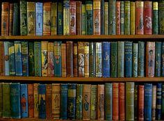 vintage children's books...