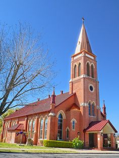 St. James Catholic Church - Seguin, Texas by Blue Eyes and Bluebonnets