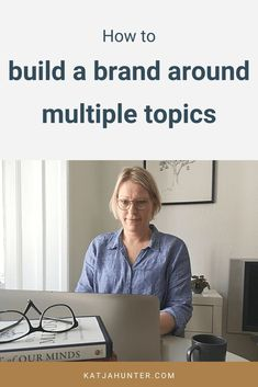 Branding a multi-passionate business with multiple topics is a challenge for many multi-passionate entrepreneurs and creatives. The solution can be to build a personal brand. Personal branding doesn't have to be expensive or big and scary. This post will help you get started. #personalbranding #branding #personalbrand Branding Your Business, Creative Business, What Is Personal Branding, Building A Personal Brand, Branding Design, Logo Design, Brand Fonts, Creative People, Cool Fonts