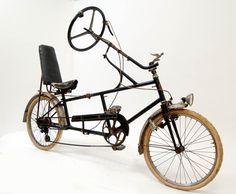 English Recumbent bicycle Velostable, 1930.