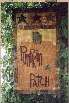 Pumpkin Patch Wall Quilt Pattern