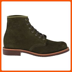 Original Chippewa Collection Men's 1901M85 6 Inch Service Utility Boot, Chocolate Moss Suede, 9.5 D US - Mens world (*Amazon Partner-Link)