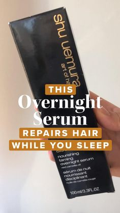 These sleep hair products are what you need to make sure your mane gets its beauty rest! Sleep Hairstyles, Hair Repair, Serum, Hair Care, Hairstyle, Hair Care Tips, Hair Makeup, Hair Treatments