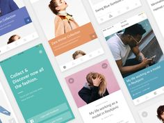 Hello there DribbbleVille, I can finally share the greatest part of the project I previewed you last week :) So basically after using Canopy app for a while, I realized I really like apps that sug...