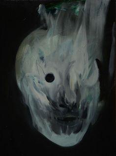 Phil Hale Head Painting Ghost Comic Art