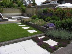 Renovatie Smalle Tuin : Beste afbeeldingen van tuinontwerp lange smalle tuin kleine
