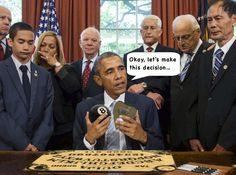 Behind the Scenes at Another Øbama Executive Decision… - GIF on Imgur