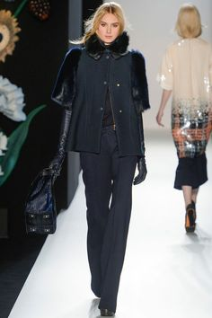Mulberry has definitely arrived at this Falls London Fashion Week. Taking a more serious line than in previous collections, Mulberry are shaping up to be a serious ready to wear contendor. Tick! I approve.