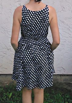 FREE SEWING PATTERN: Barbara Dress pattern - On The Cutting Floor