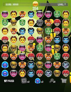 App Shopper: Monster Pile - Matching 3 Dead, Monstrous Zombie Draculas (Games)