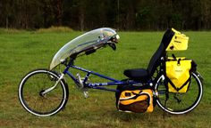 rans recumbent bike - Mine is a red 1998 Tailwind model with SRAM X5 (soon to be upgraded to X7) componentry. A great entry level recumbie.
