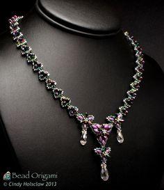 Bead Origami: Rizo Triangles Necklace Class