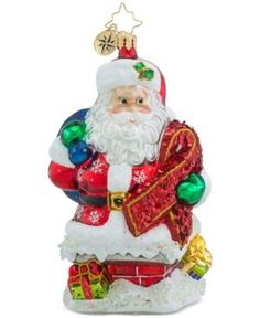 Christopher Radko Ribbon Delivery Collectible Christmas Ornament - Multi