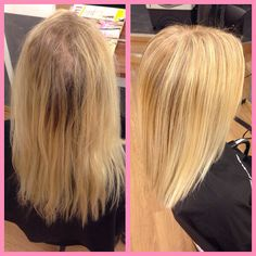 Hairbyemma ✌️ hair made by me before and after  somerhing fresh for my friend