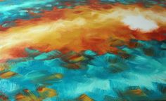 1-10-13 Work in Progress Painting, Stage I on a 3'x5' (collapsiblecanvas.com) canvas.