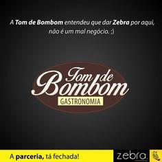 A Tom de Bombom entendeu muito bem! #DeuZebra #publicidade #propaganda #agência #Zebra #aideuzebra #agênciapp #comunicação #job #pp #empresa #empreendedorismo #empreendedor #mkt #style #design #parceria #clientes