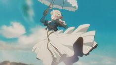 Cool Anime Girl, Cute Anime Pics, Kawaii Anime Girl, Anime Art Girl, Anime Guys, Violet Evergarden Anime, Otaku Anime, Manga Anime, Anime Music Videos