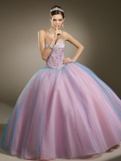 cotton candy quince dress - Google Search
