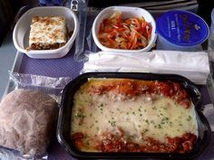 Airline meals from around the world