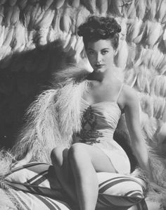 Ava Gardner photographed by Eric Carpenter for Two Girls and a Sailor, 1944