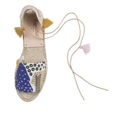 Bow Slides, Gift Of Time, New Earth, Summer Prints, Made Clothing, Together We Can, Sustainable Design, Summer Collection, Espadrilles