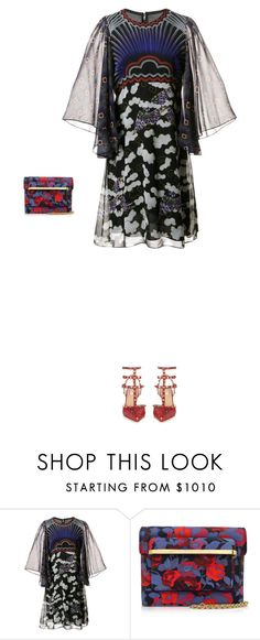 """""""Untitled #3924"""" by michelanna ❤ liked on Polyvore featuring Mary Katrantzou and Valentino"""