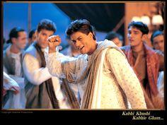 """Shahrukh Khan in """"Kabhi Khushi Kabhie Gham""""."""