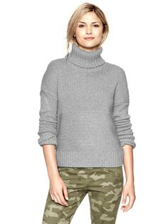 Gap Stitch Turtleneck Sweater