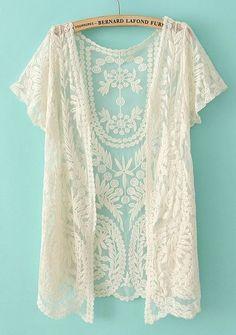 Pretty lace cardi