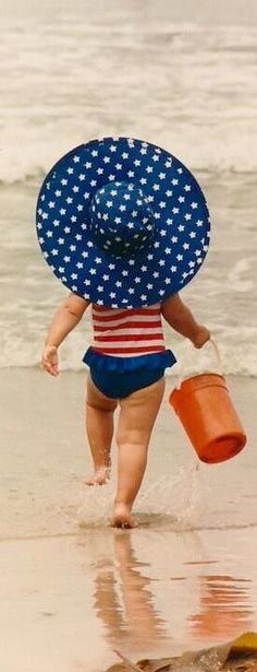 Ready for the beach on the 4th.