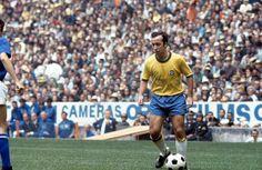Tostão, Brasil. Copa do Mundo do México em 1970.