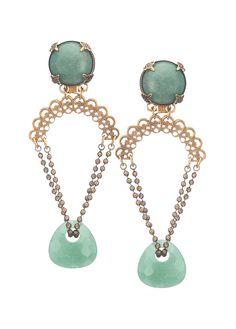 Earrings by Jan Michaels
