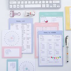 Cute Kawaii Monthly Planner Shopping List Notebook Agenda Filofax Dokibook Office Korean Stationery Free Shipping 3623-in Notebooks from Office & School Supplies on Aliexpress.com | Alibaba Group