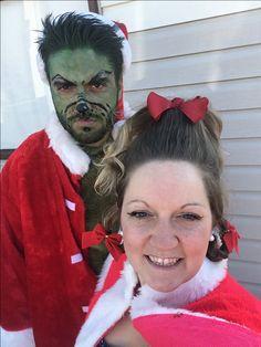 Halloween 2017 the Grinch & CindyLou