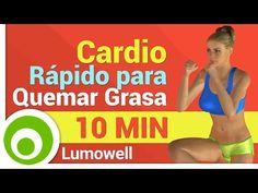 Cardio Rápido para Quemar Grasa - 10 Minutos - YouTube