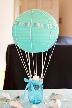 I'm obsessed with hot air balloon themes