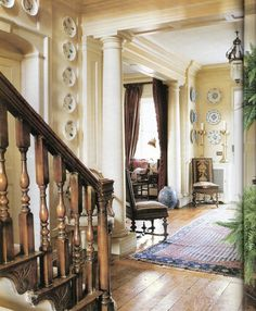 Hall Manor- One of my consistently favorite homes for years. Classic, timeless, country manor.  Traditional Home 2005