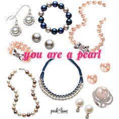 You Are A Pearl by parklanejewelry on Polyvore featuring Park Lane
