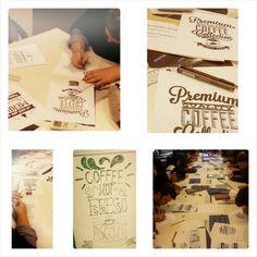 #typography #handmade