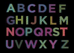 Stitching Font - Free Font - available for download on Behance