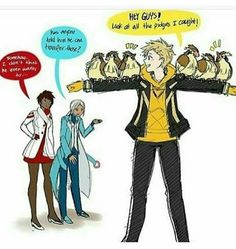 Instinct's one and only Spark!