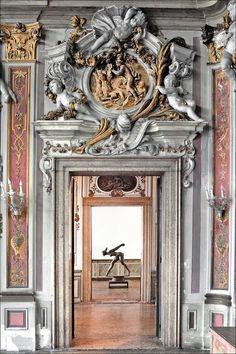 Ornate Plaster wall and door relief work