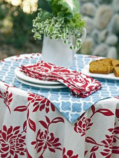 Floral Design - Simply Chic Fourth of July Entertaining Ideas on HGTV